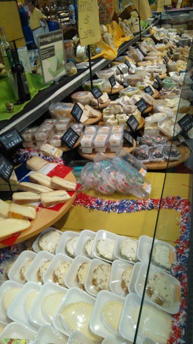 種類豊富なイタリアのチーズ