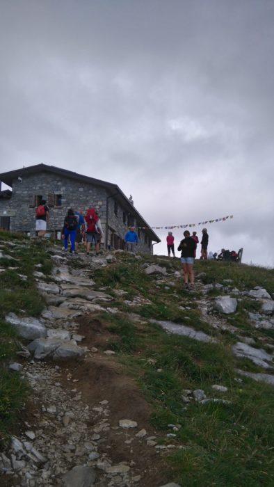 アレラ山の山小屋