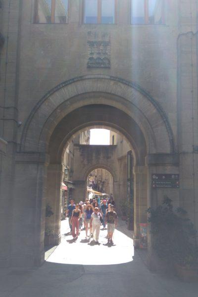 サンマリノ共和国の入口の門
