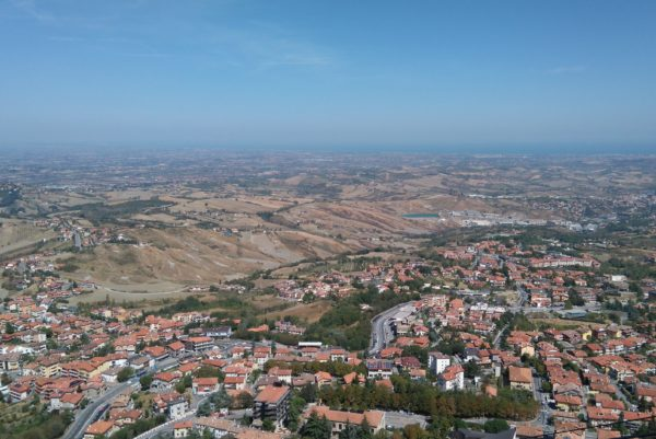 サンマリノ共和国から見える絶景