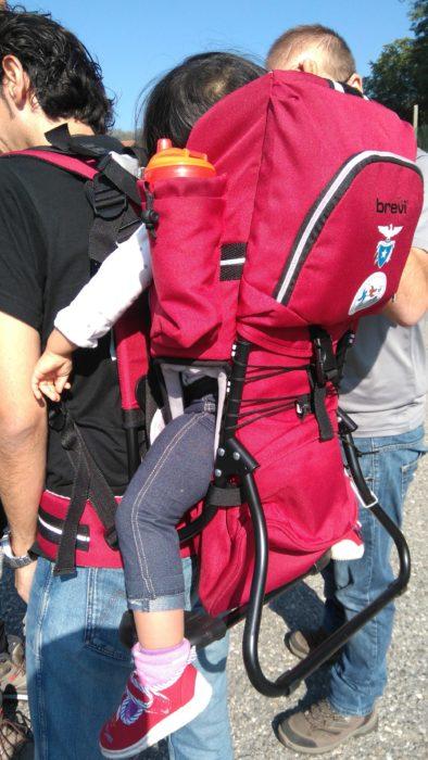 子どもと一緒の山登りに欠かせない登山用ベビーキャリア