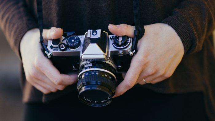 大事なカメラ