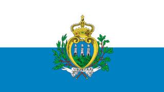 サンマリノ共和国の国旗