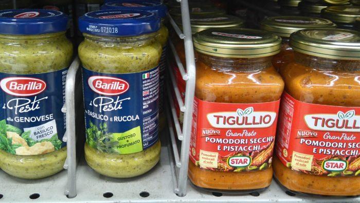イタリアでよく使われるパスタソース