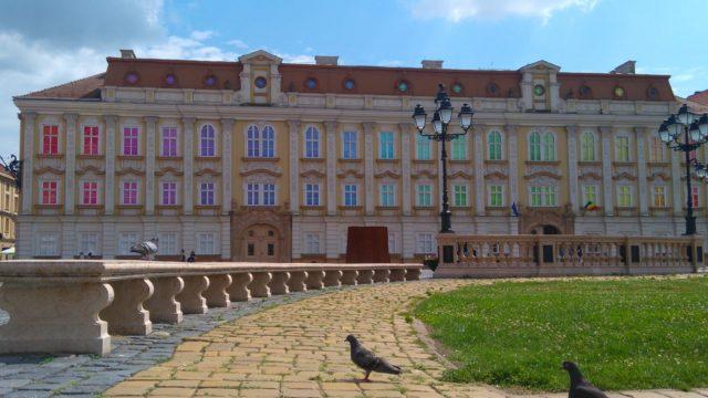 ルーマニアのカラフルな建物