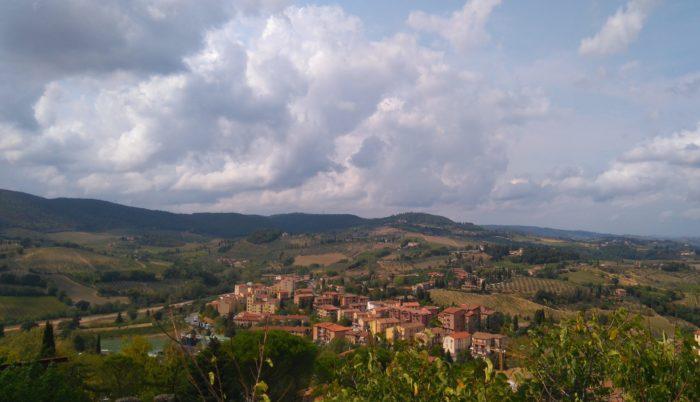 イタリアトスカーナ地方の景色