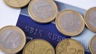 ユーロコインとクレジットカード