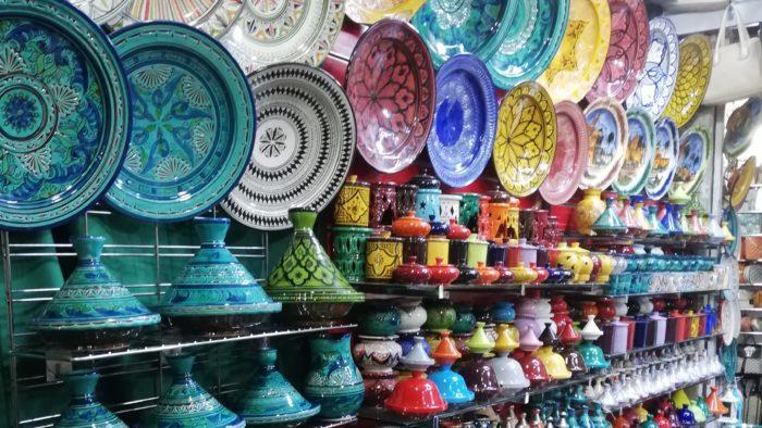 モロッコの皿