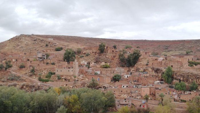 モロッコのベルベル村